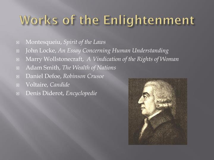 Works of the Enlightenment