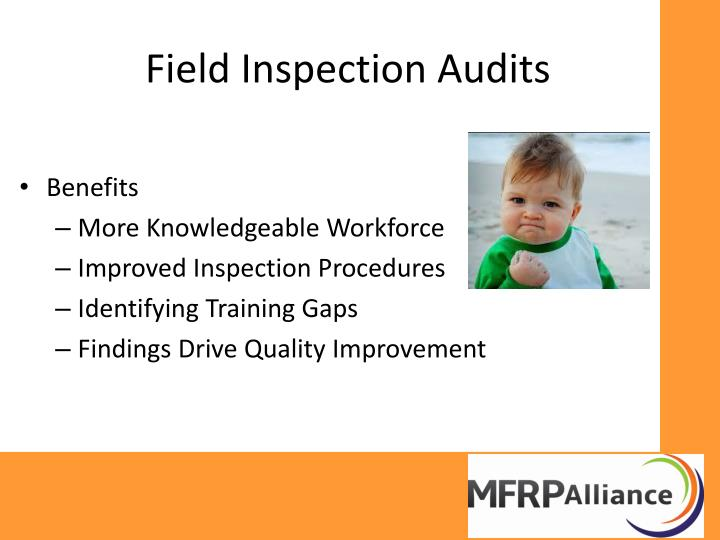 Field Inspection Audits