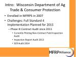 intro wisconsin department of ag trade consumer protection