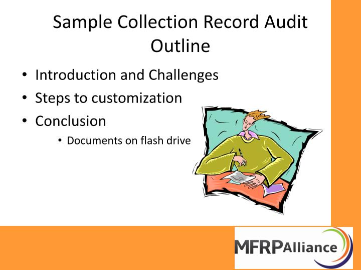Sample Collection Record Audit Outline