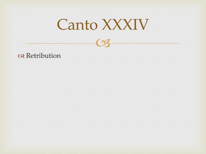 Canto XXXIV