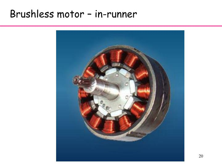 Brushless motor – in-runner
