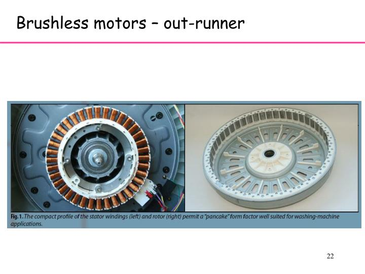 Brushless motors – out-runner