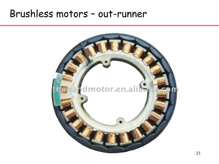 Brushless motors – out-runner