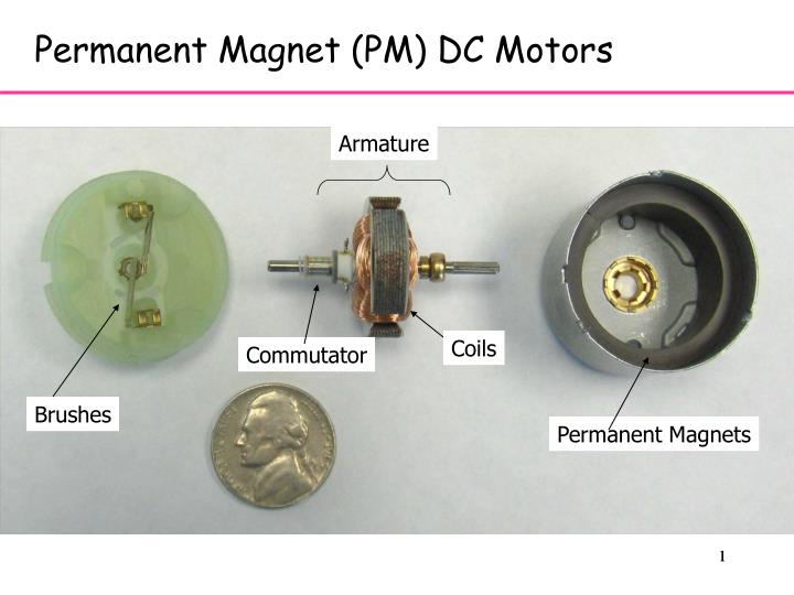 Permanent Magnet (PM) DC Motors