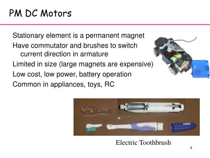 PM DC Motors