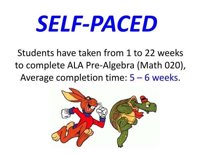 SELF-PACED