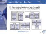 industry context devops