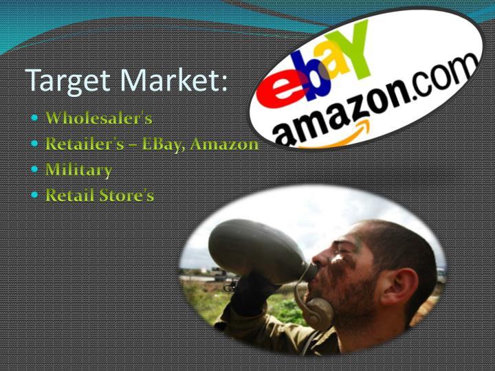 Target Market: