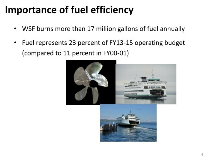 Importance of fuel