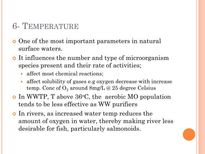 6- Temperature