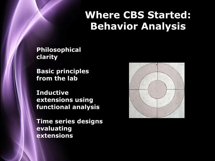Where CBS Started: