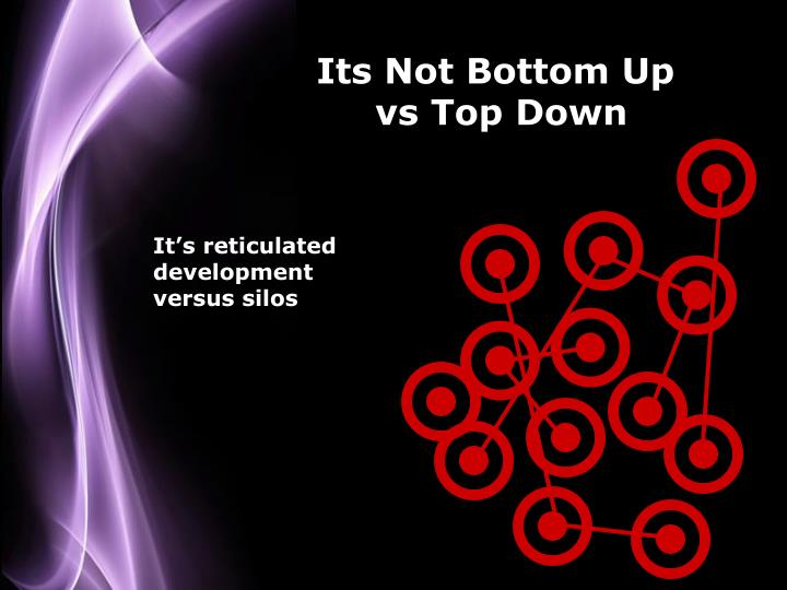 Its Not Bottom Up