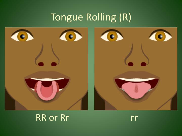 Tongue Rolling (R)