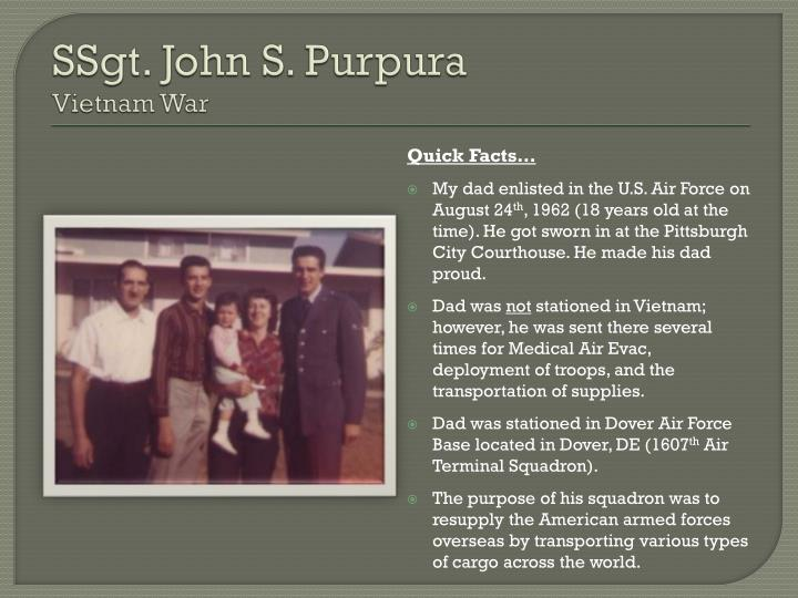 SSgt. John S. Purpura