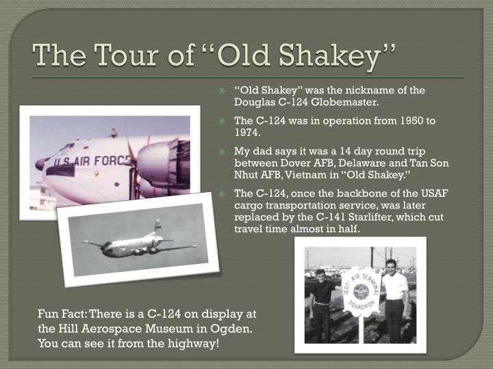 "The Tour of ""Old"