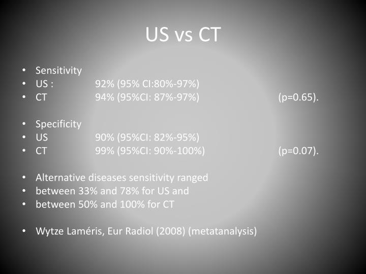 US vs CT