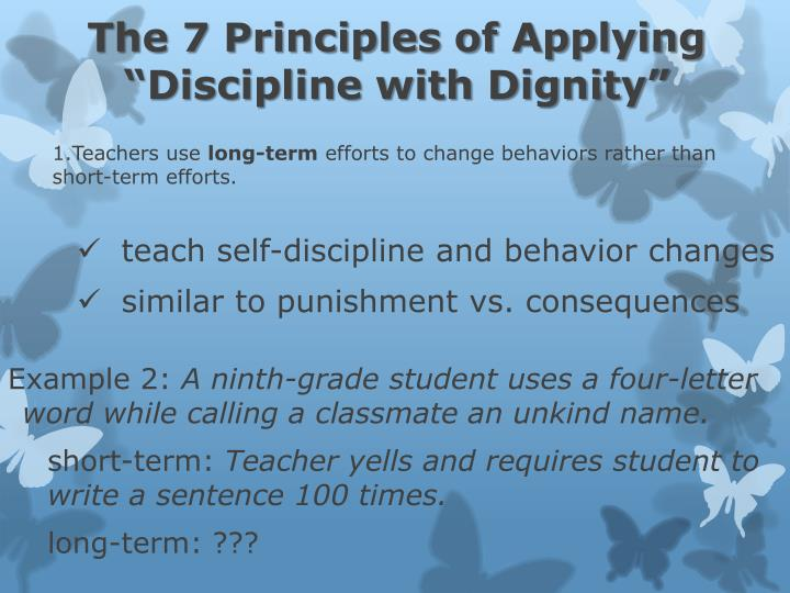 The 7 Principles of Applying