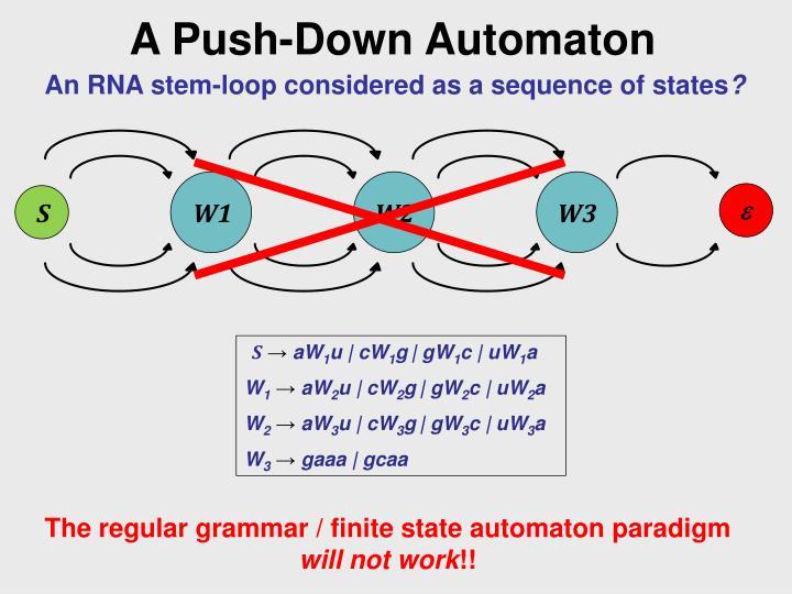 A Push-Down Automaton