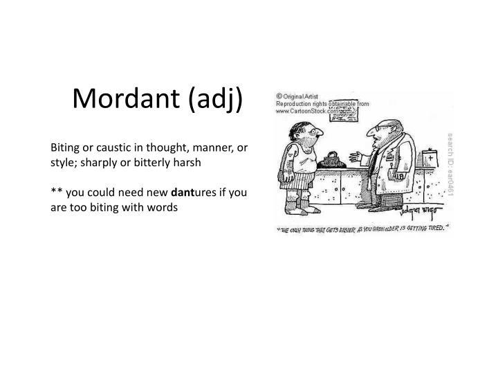 Mordant (