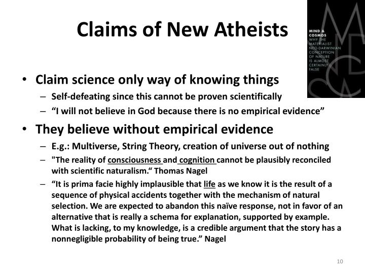 Claims of New Atheists
