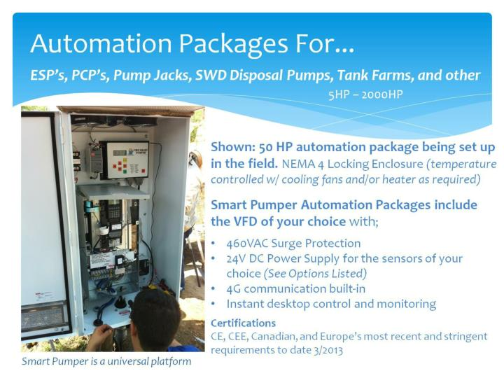 Automation Packages For...