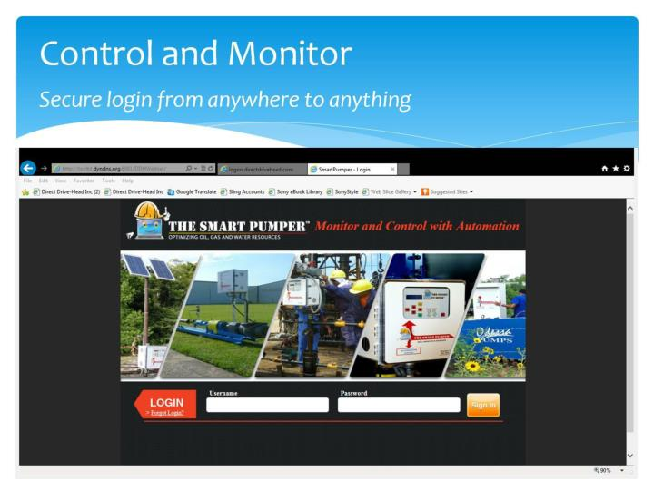 Control and Monitor