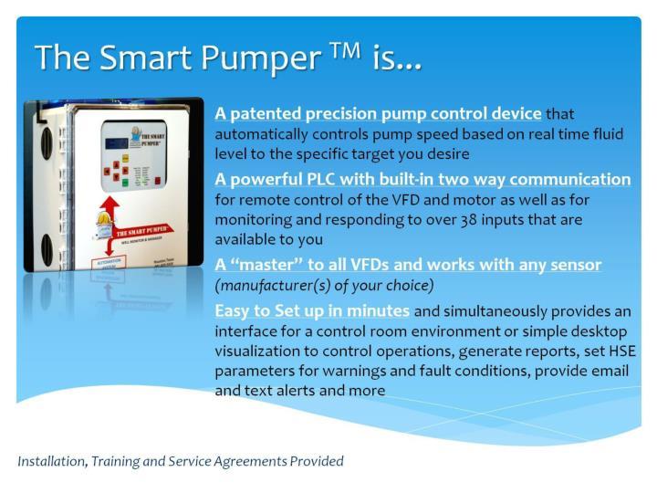 The Smart Pumper