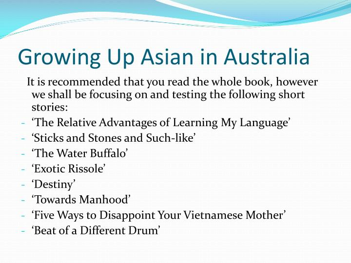 Growing Up Asian in Australia