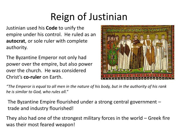 Reign of Justinian