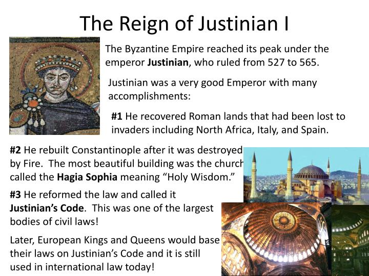 The Reign of Justinian I