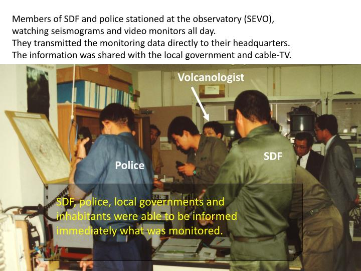 Members of SDF and