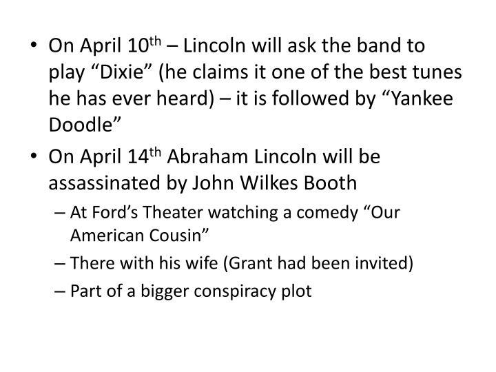 On April 10