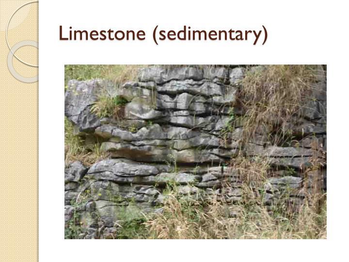 Limestone (sedimentary)