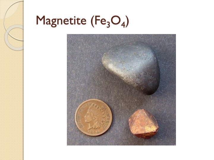 Magnetite (Fe