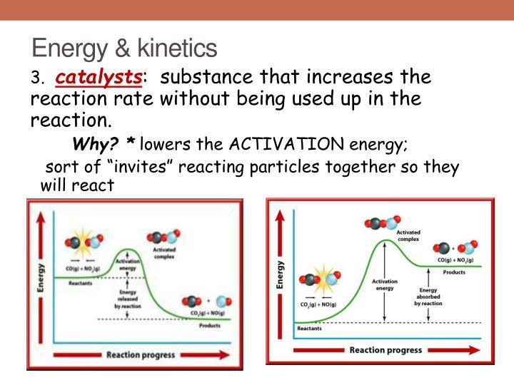 Energy & kinetics