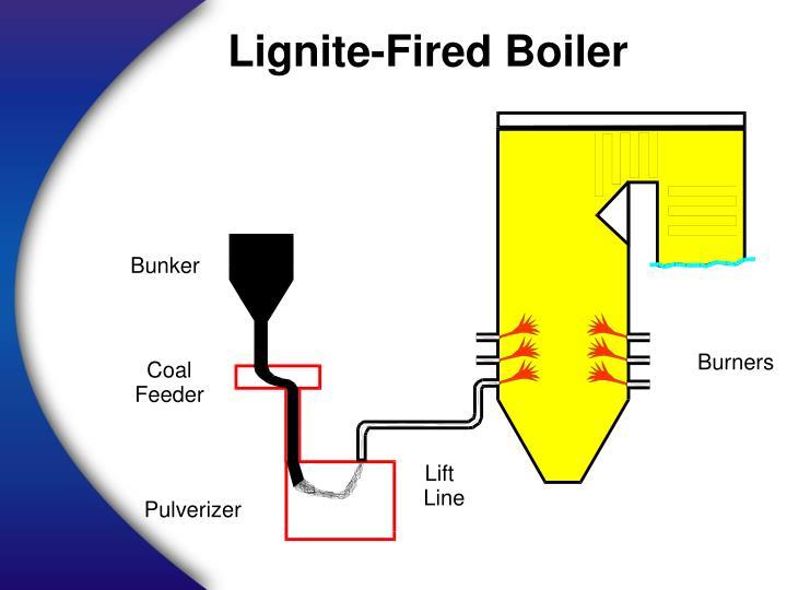 Lignite-Fired Boiler