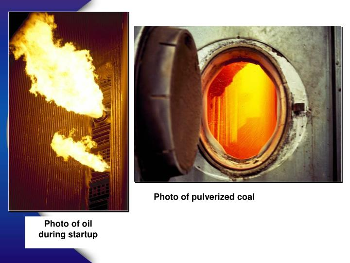 Photo of pulverized coal