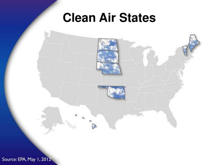 Clean Air States