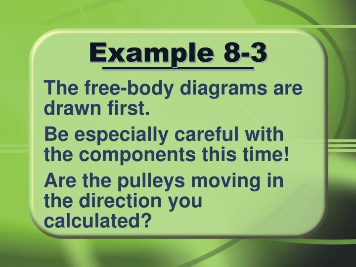 Example 8-3