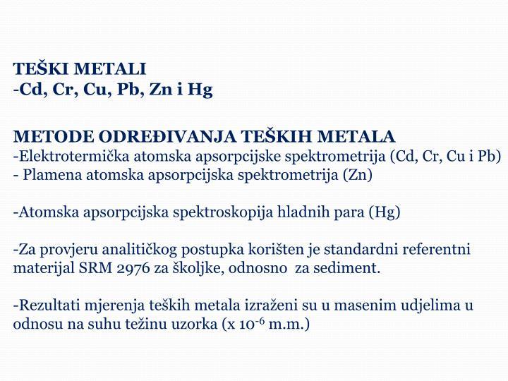 TEŠKI METALI