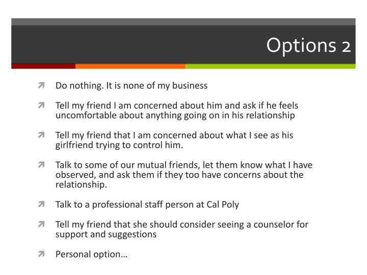 Options 2