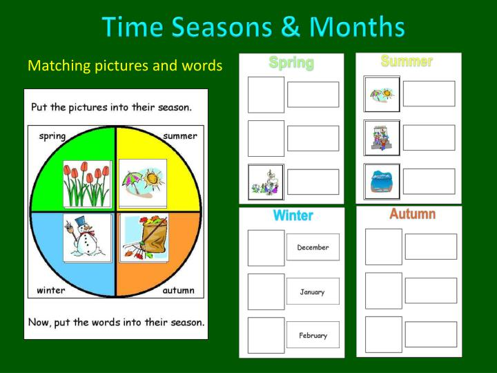 Time Seasons & Months