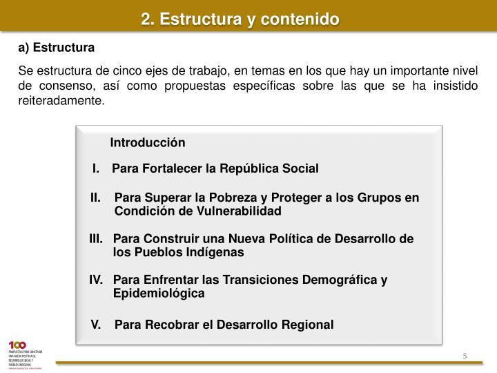 IV. Para Enfrentar las Transiciones Demográfica y Epidemiológica