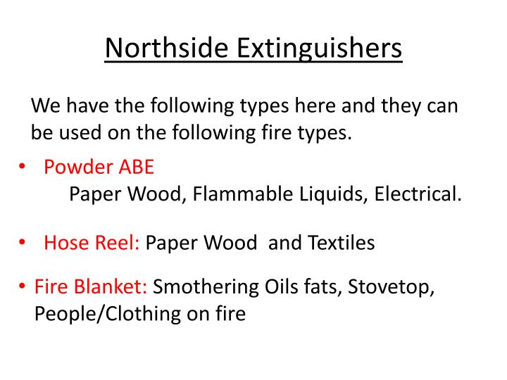 Northside Extinguishers