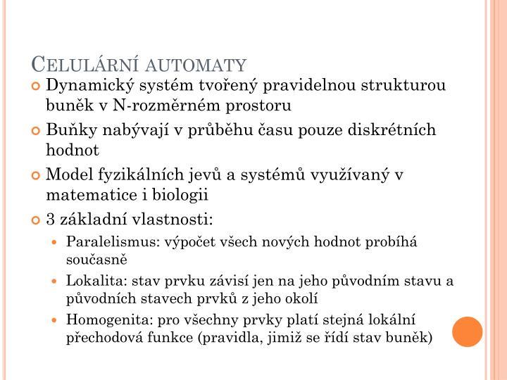 Celulární automaty