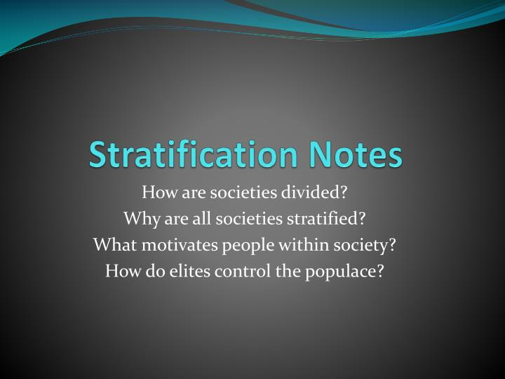 social stratication essay