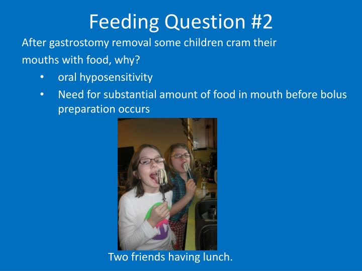 Feeding Question #2