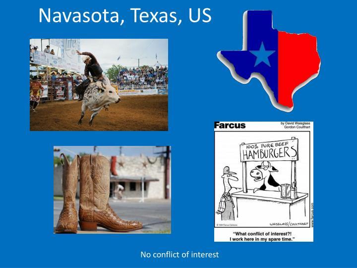 Navasota, Texas, US