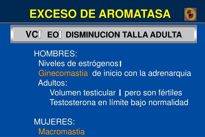 EXCESO DE AROMATASA